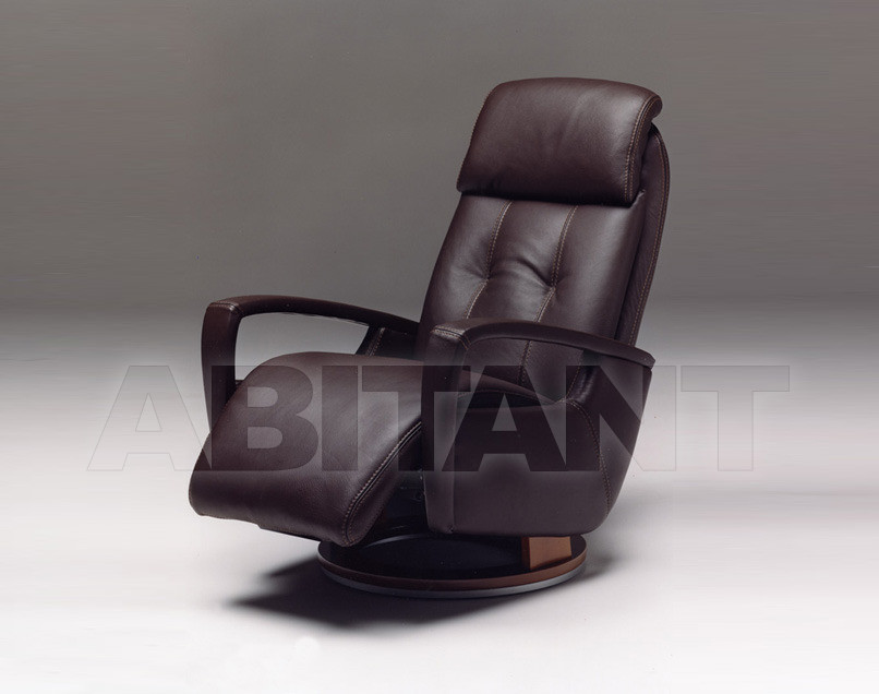 Купить Кресло INDIA Satis S.p.A Collezione 2011 INDIA Armchair Swivel (incorporated footrest)