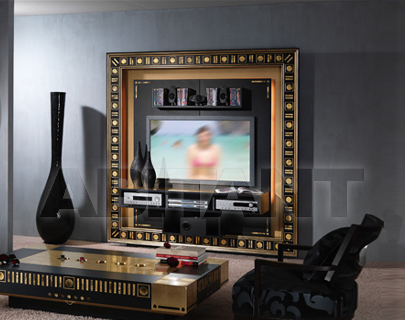 Купить Модульная система Vismara Design Gold/silver Eyes frame home cinema gold eyes