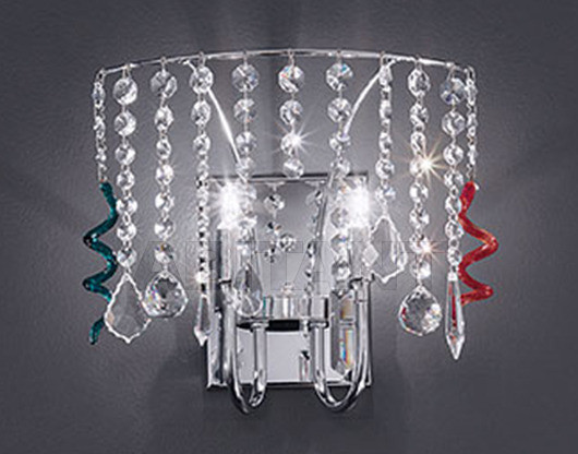 Купить Бра Voltolina Classic Light srl Contemporary  Silk Wall lamp crystal