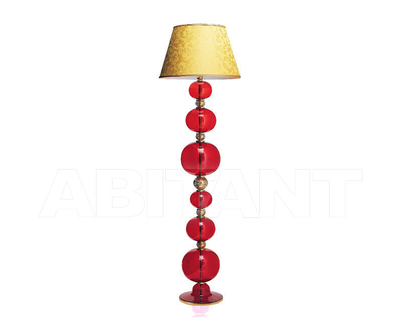 Купить Торшер Arte di Murano Lighting Classic 7543 PT RED