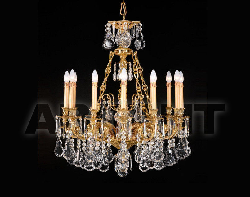Купить Люстра Badari Lighting Candeliers With Crystals B4-640/12