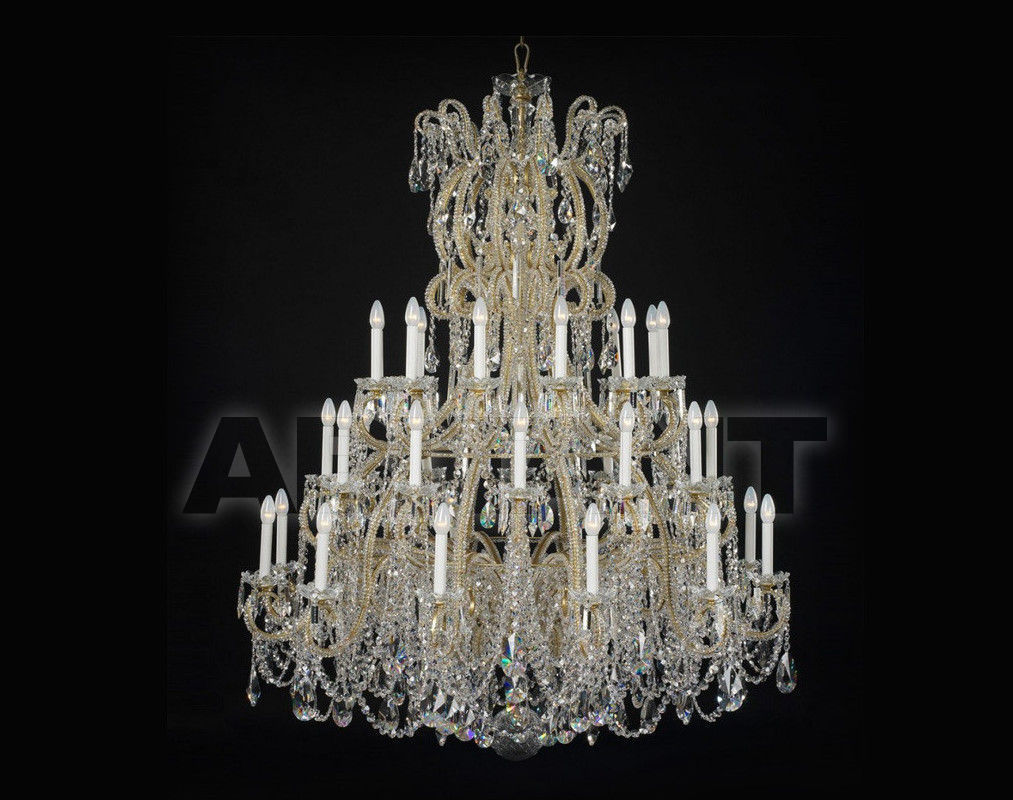 Купить Люстра Badari Lighting Candeliers With Crystals B4-37/36AF