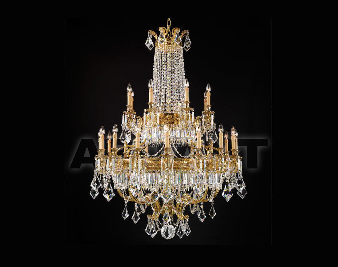 Купить Люстра Badari Lighting Candeliers With Crystals B4-708/24