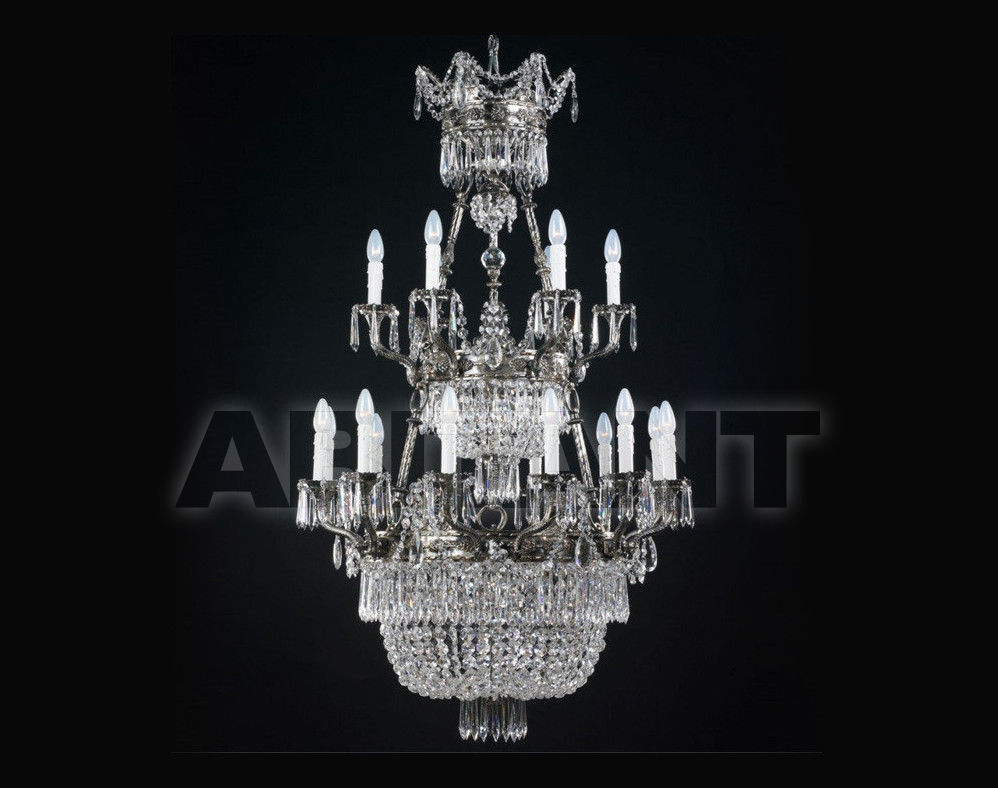 Купить Люстра Badari Lighting Candeliers With Crystals B4-745/18+7