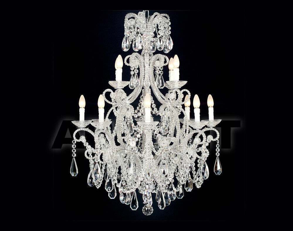 Купить Люстра Badari Lighting Candeliers With Crystals B4-55/12BOHEM