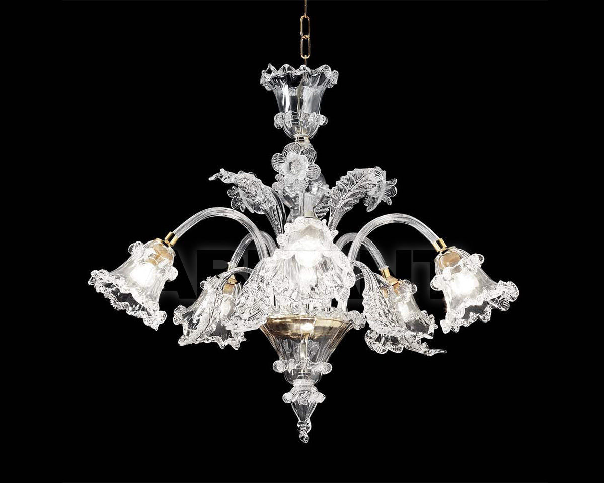 Купить Люстра Ciciriello Lampadari s.r.l. Lighting Collection ARTISTICO cristal lampadario 5 luci