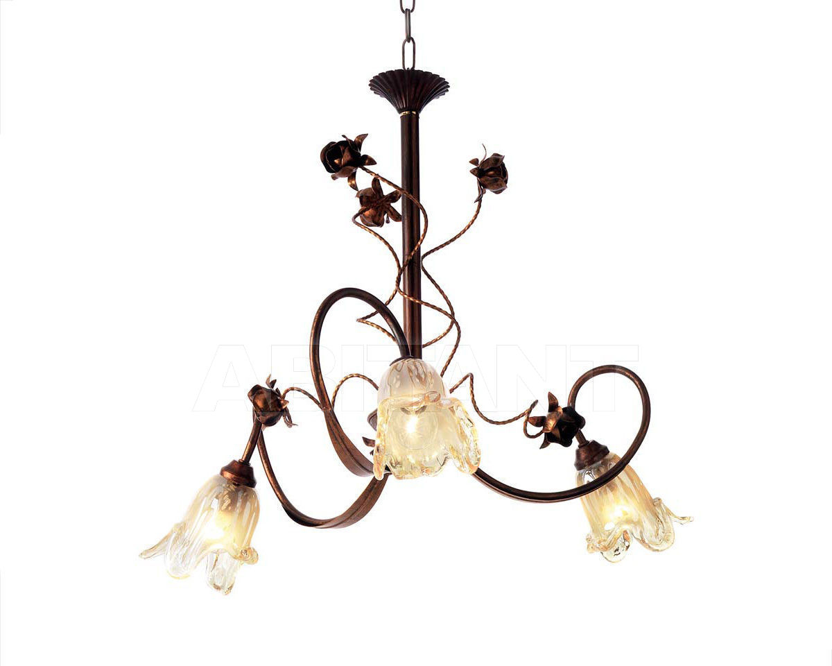 Купить Люстра Ciciriello Lampadari s.r.l. Lighting Collection NOEMI lampadario 3 luci