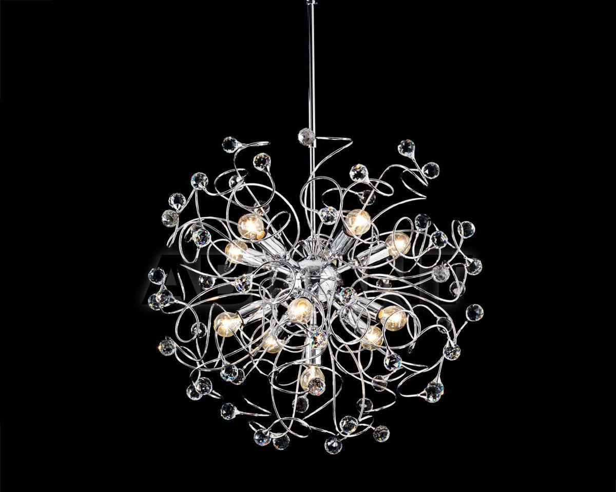 Купить Люстра Ciciriello Lampadari s.r.l. Lighting Collection PALLA cromo lampadario 11 luci