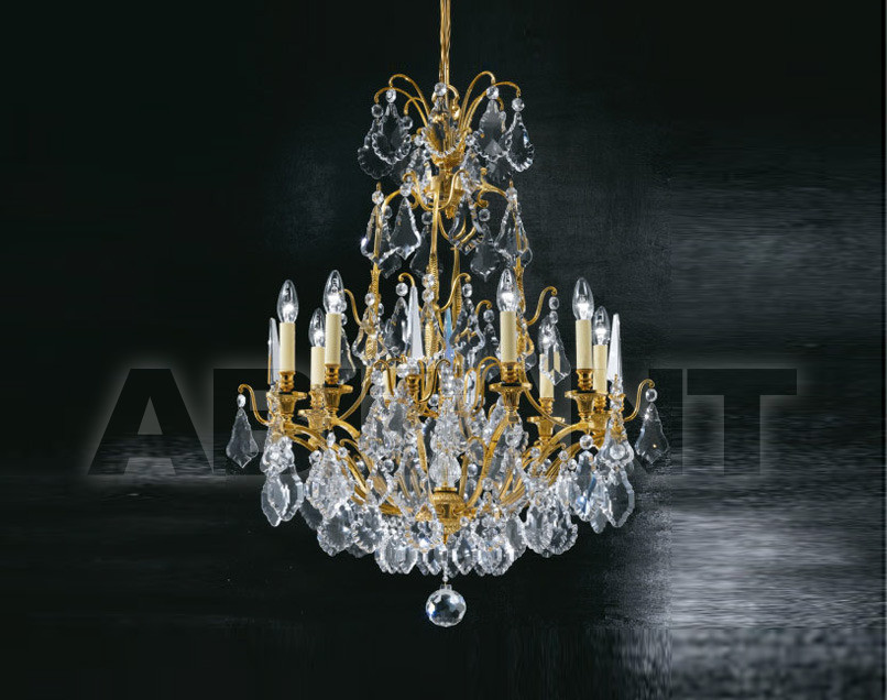 Купить Люстра Arizzi Brass Chandeliers With Bohemian Crystals 28/8