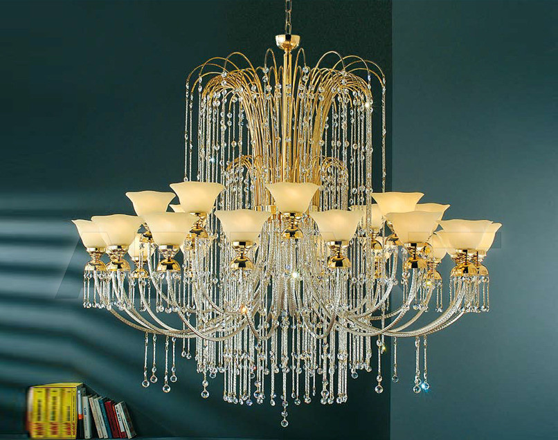 Купить Люстра Arredo Luce Royal Crystal 404/16+8
