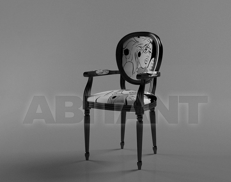 Купить Стул с подлокотниками Vanity  DV homecollection srl Dv Home Collection 2011-2012/day Vanity/armchair