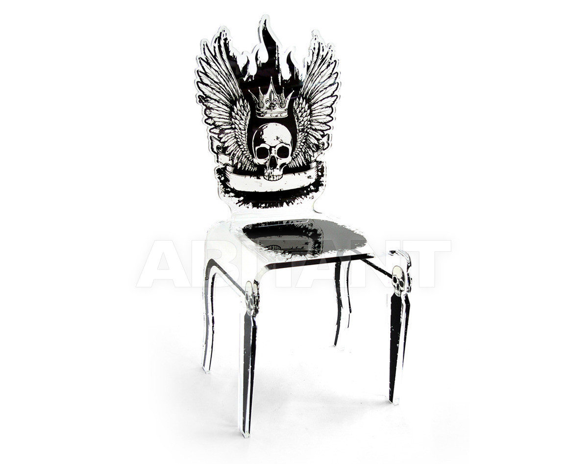 Купить Стул Acrila Let's Rock Line Let's Rock Chair Skull