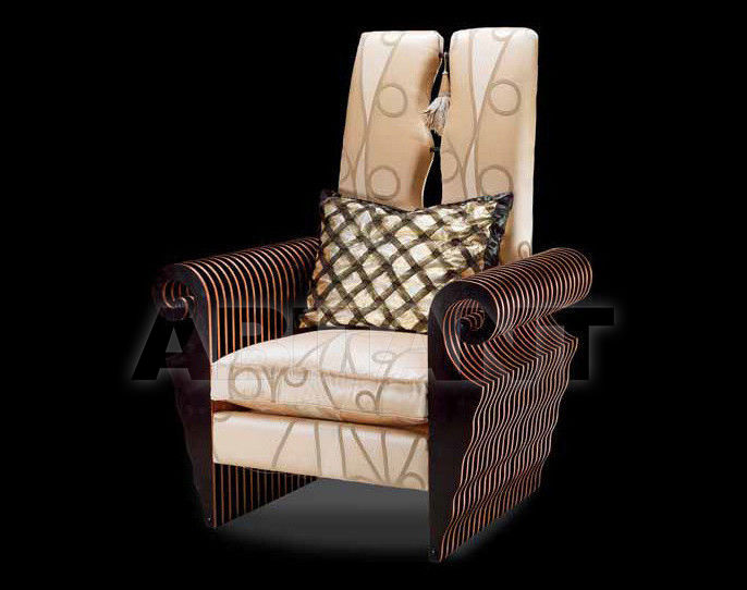 Купить Кресло Isacco Agostoni Contemporary 1282 ARMCHAIR