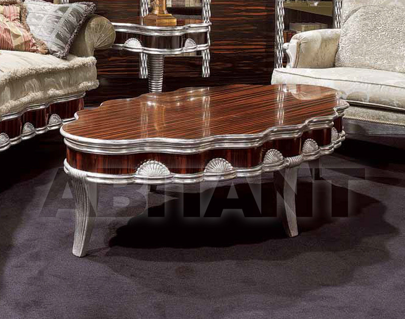 Купить Столик приставной ONDA Isacco Agostoni Contemporary 1266 CENTRAL OVAL TABLE