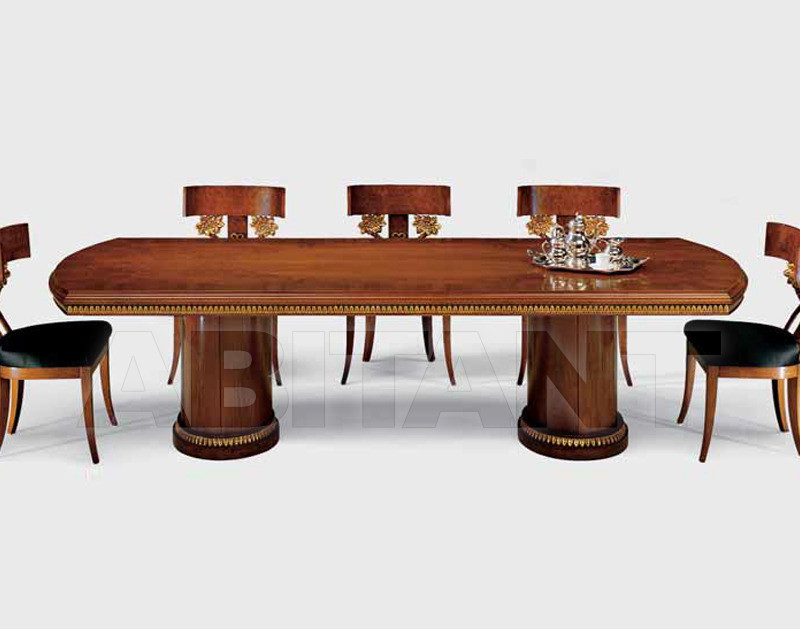 Купить Стол обеденный OLIMPIÀ Isacco Agostoni Contemporary 1000 2 BASES TABLE