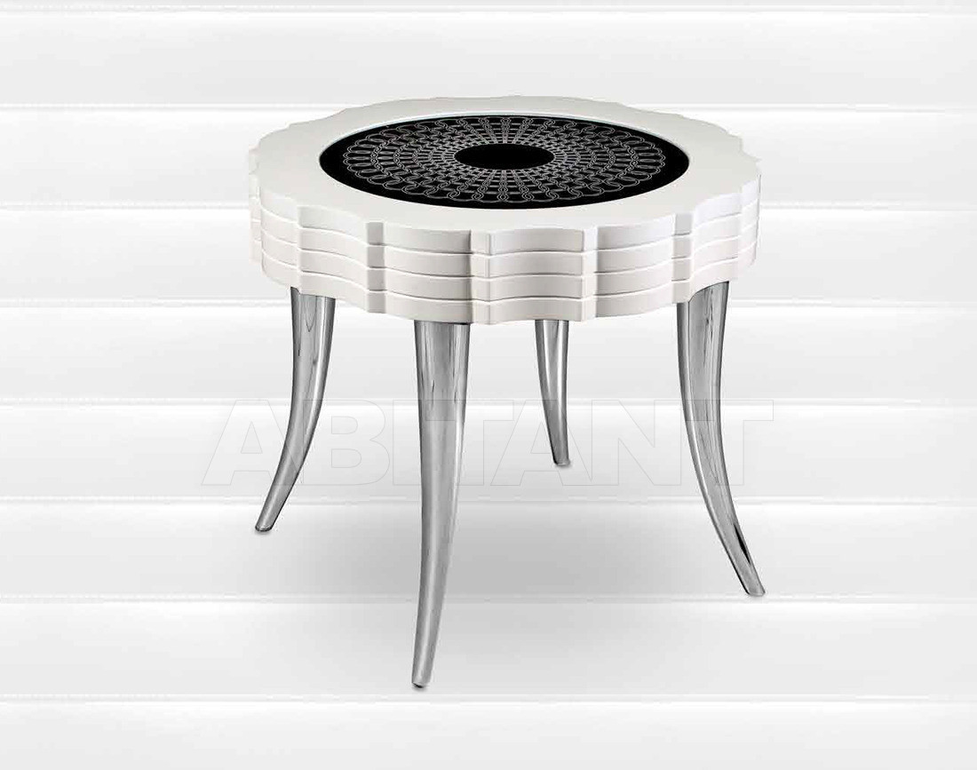Купить Столик кофейный Isacco Agostoni Contemporary 1319 ROUND SIDE TABLE