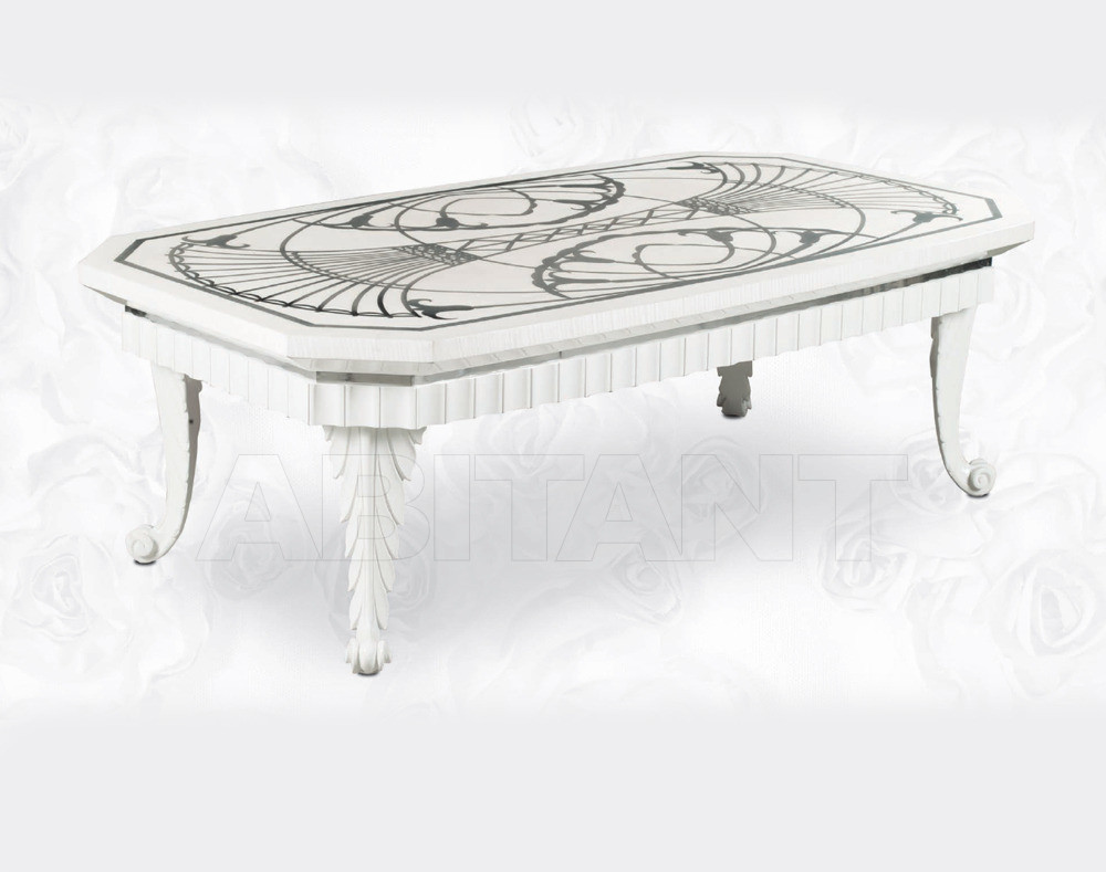 Купить Столик кофейный Isacco Agostoni Contemporary 1349 RECTANGULAR CENTRAL COFFEE TABLE