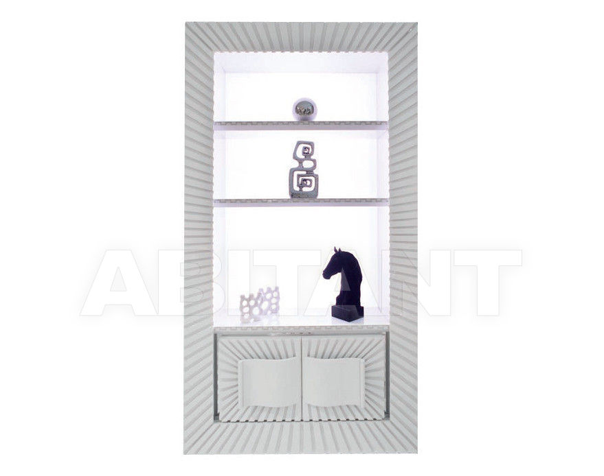 Купить Шкаф книжный Isacco Agostoni Contemporary 1354 WALL UNIT