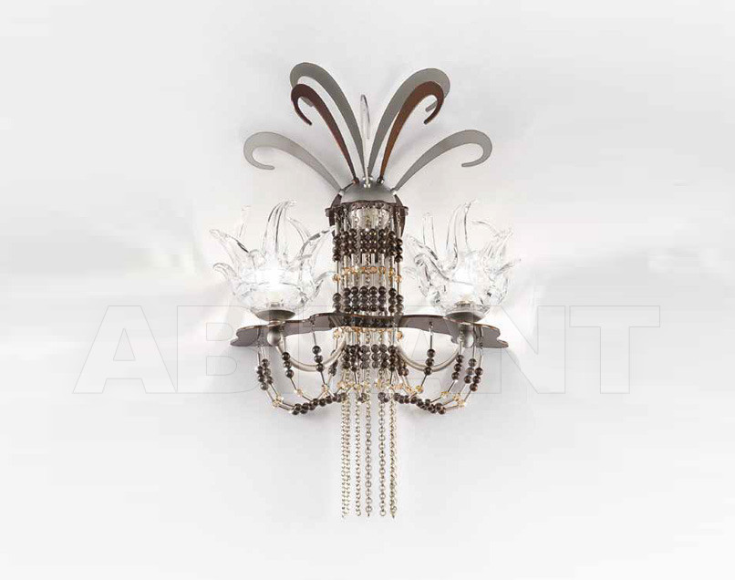 Купить Бра IDL Export Dolce Vita Luxury Lighting 450/2A Nickel Chocolate