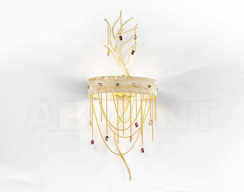 Купить Бра IDL Export Dolce Vita Luxury Lighting 443/4A Ivory Gold Laquered