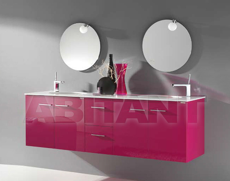 Купить Композиция Sanchis Muebles De Bano S.L. Ruth SET OF 170 CM COLOUR- GLOSS FUCHSIA