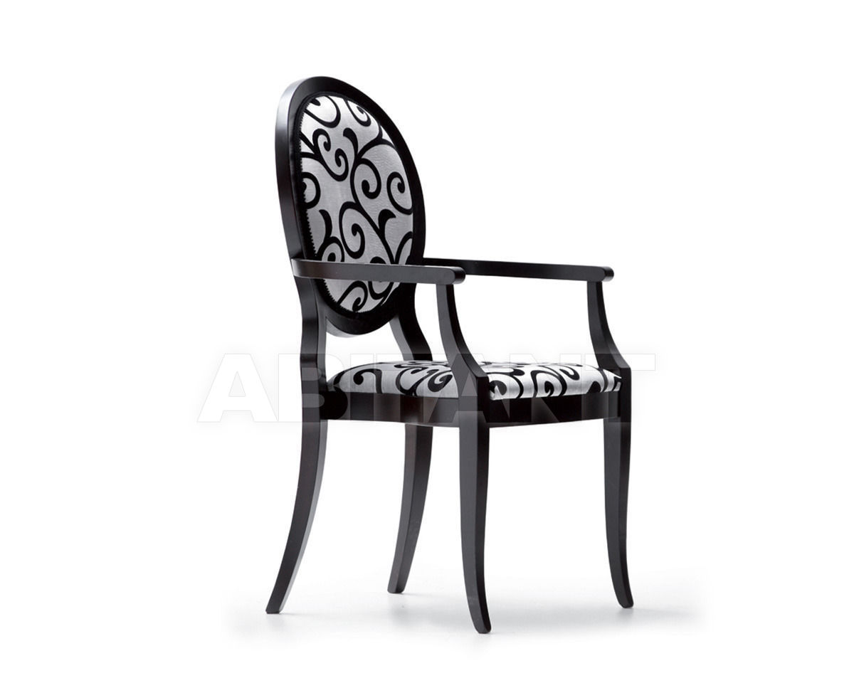 Купить Стул с подлокотниками Opera Contemporary by Angelo Cappellini Chairs And Dining Chairs 30100/P