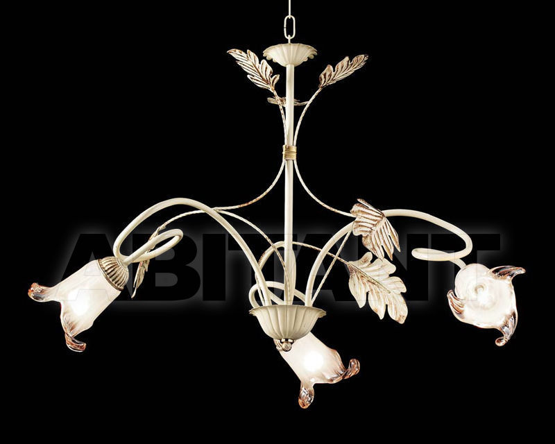 Купить Люстра Ciciriello Lampadari s.r.l. Lighting Collection 2490 avorio lampadario 3 luci