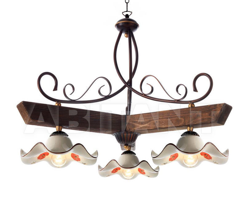 Купить Светильник Ciciriello Lampadari s.r.l. Lighting Collection 2015 ruggine sospensione 3 luci