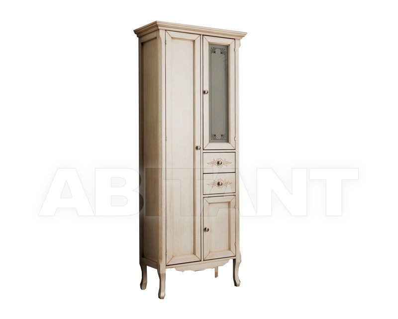 Купить Шкаф для ванной комнаты Ciciriello Lampadari s.r.l. Bathrooms Collection Vetrina Katia 60 avorio