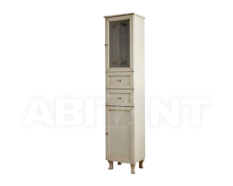 Купить Шкаф для ванной комнаты Ciciriello Lampadari s.r.l. Bathrooms Collection Colonna A30 avorio