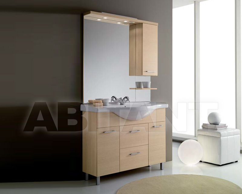 Купить Композиция Ciciriello Lampadari s.r.l. Bathrooms Collection ILARIA 105 rovere Composizione come foto