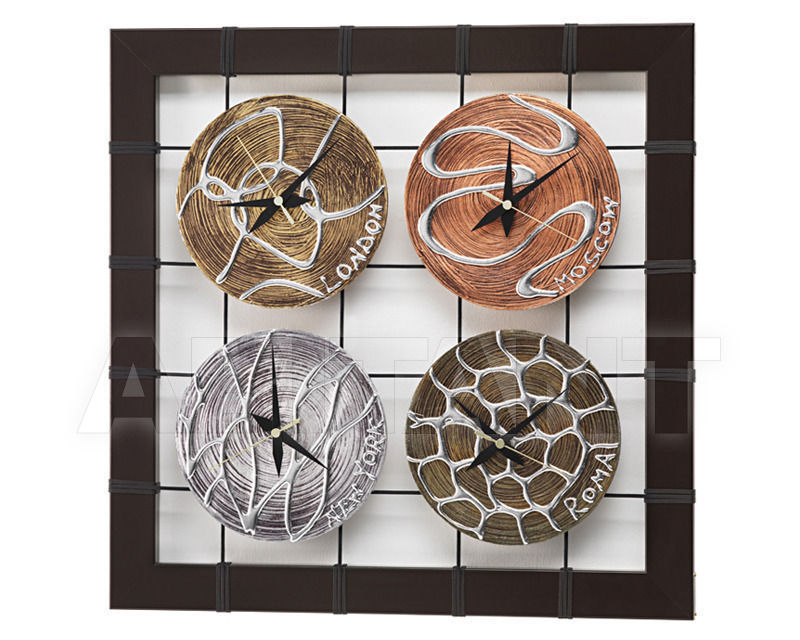 Купить Часы настенные Pintdecor / Design Solution / Adria Artigianato Clocks P2792