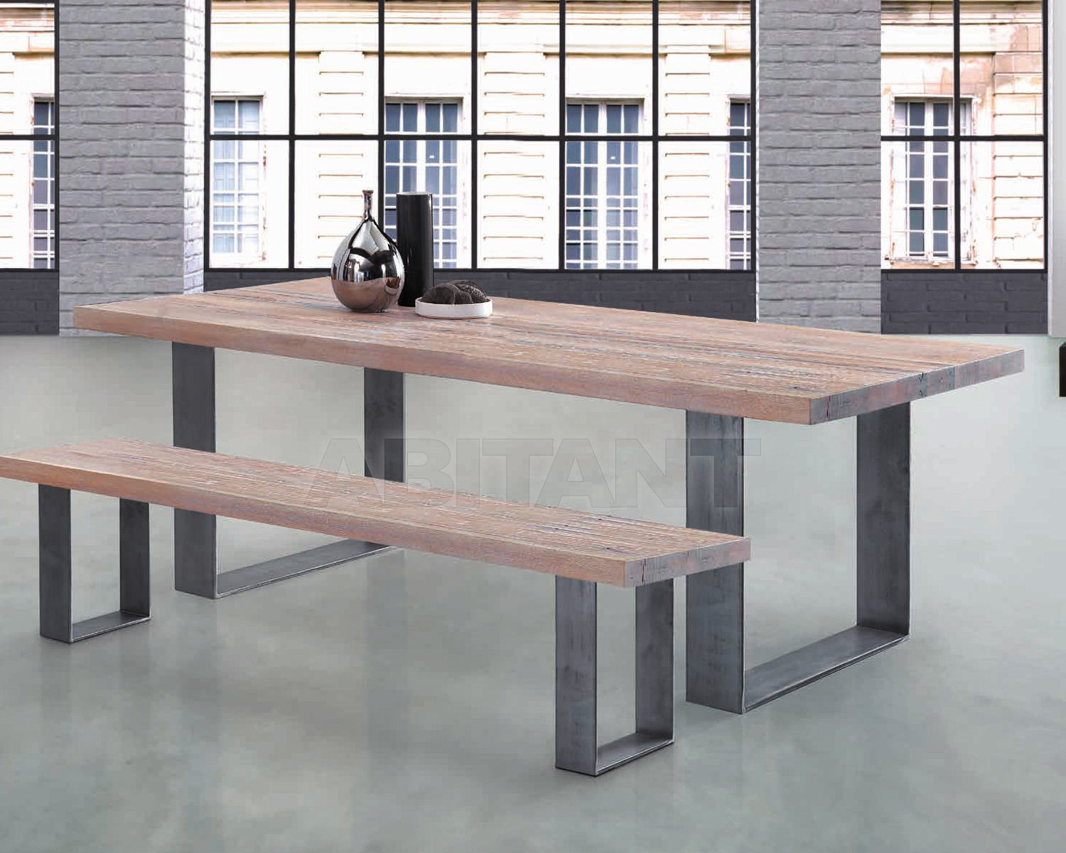 Купить Стол обеденный Oliver B. Group Tables, Coffee Tables & Benches HU 100E20