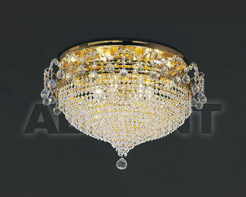 Купить Люстра Asfour Crystal Crystal 2013 PL 643/60/12 Gold Ball*Octagons