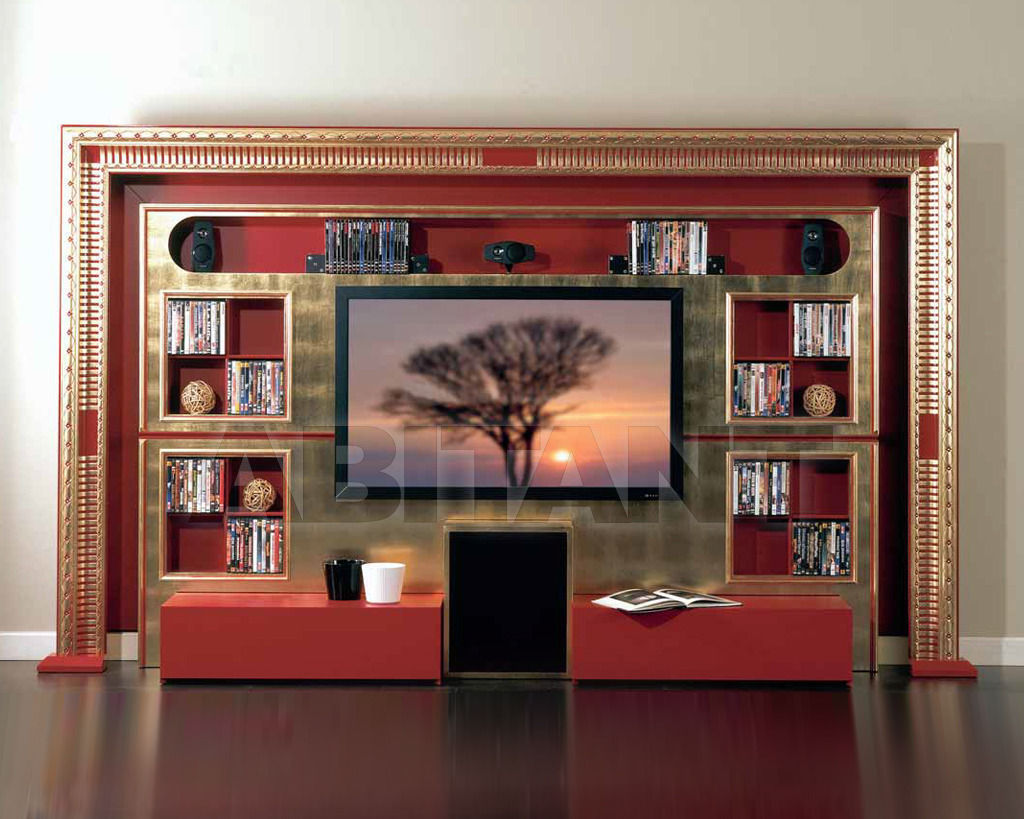 vismara design the wall home cinema art deco. Black Bedroom Furniture Sets. Home Design Ideas