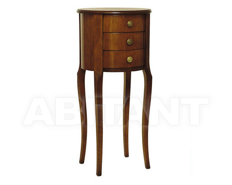 Купить Тумбочка Italexport Classico italiano 158  PLAIN WOOD LAMP TABLE