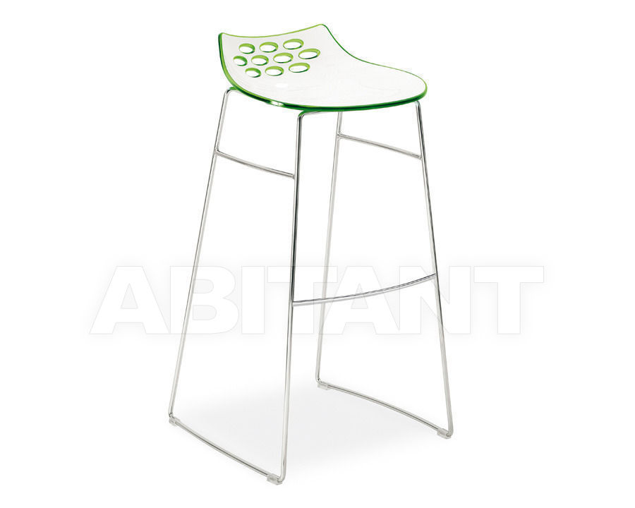 Купить Барный стул JAM Connubia by Calligaris Dining CS/1034 P77, P799-P796