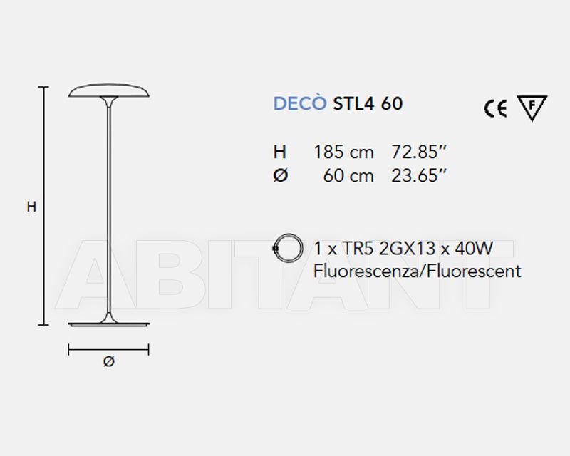 Схема Лампа напольная MASIERO