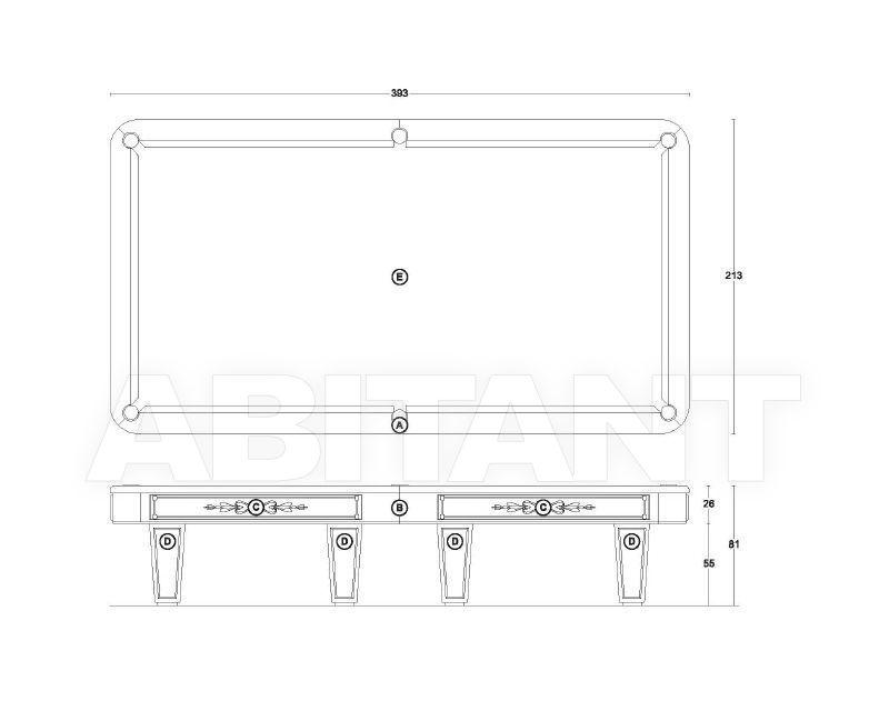 Схема Бильярдный стол VISMARA