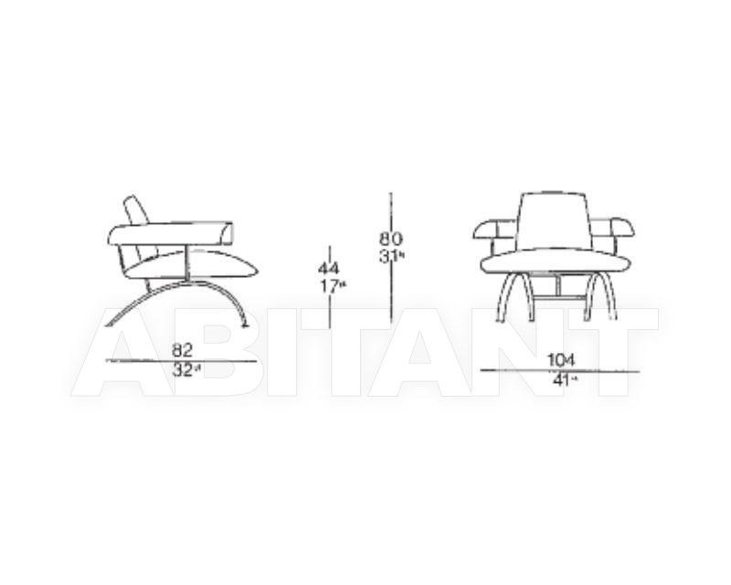 Схема Кресло KEN IL LOFT