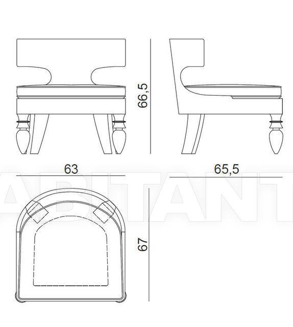 Схема Кресло Vega Ipe Cavalli