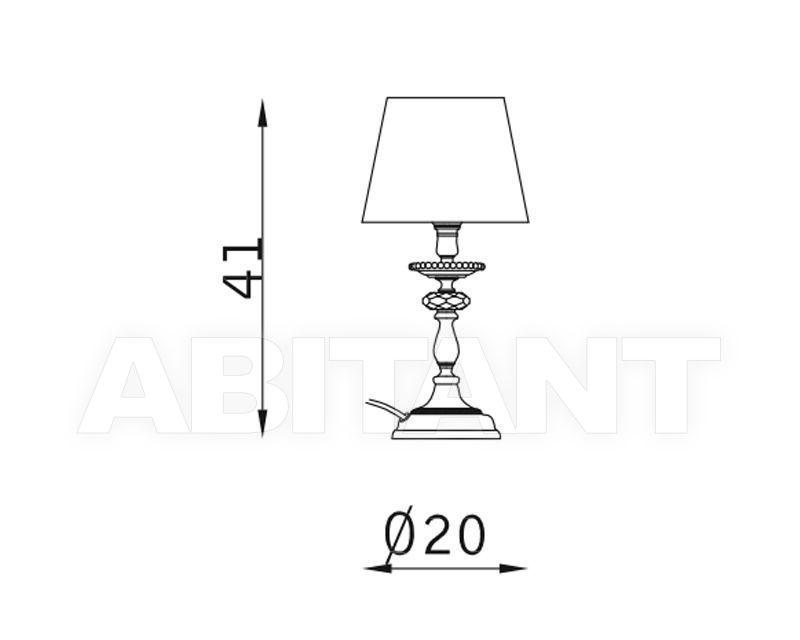 Схема Лампа настольная Vola