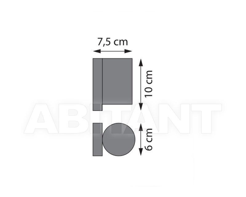 Схема Фасадный светильник
