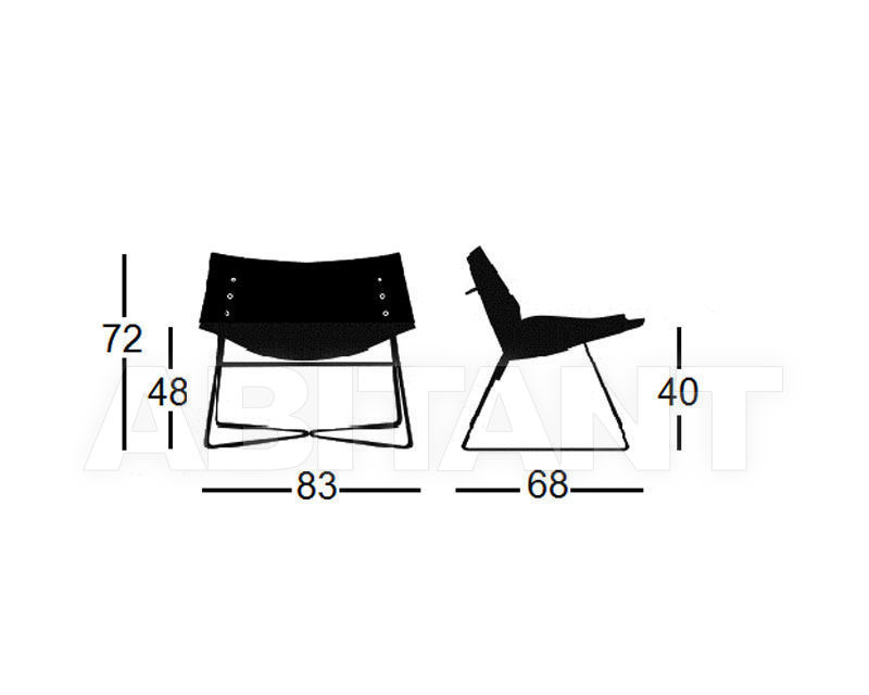 Схема Кресло Panel V Capdell