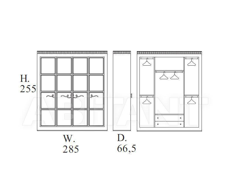 Схема Шкаф гардеробный