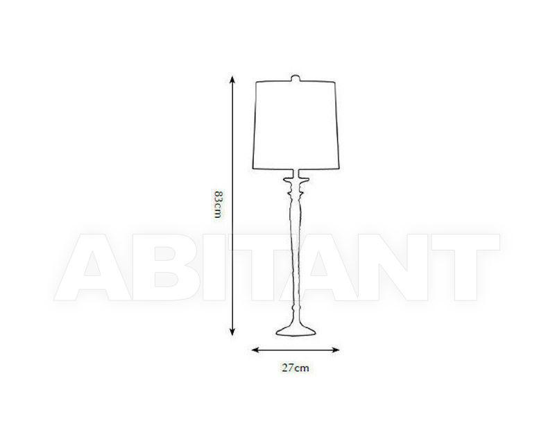 Схема Лампа настольная Pieter