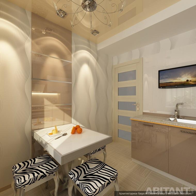 Дизайн малогабаритной квартиры в