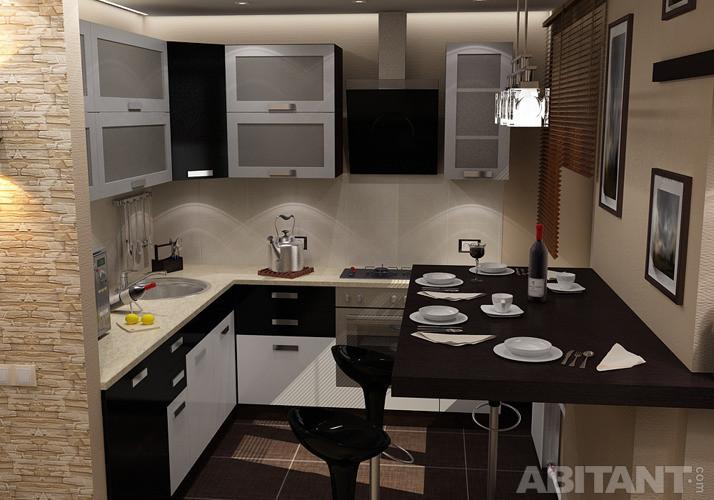 Кухня в хрущевке фото дизайн