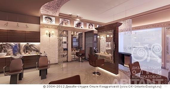 Дизайн салона красоты в стиле ар деко