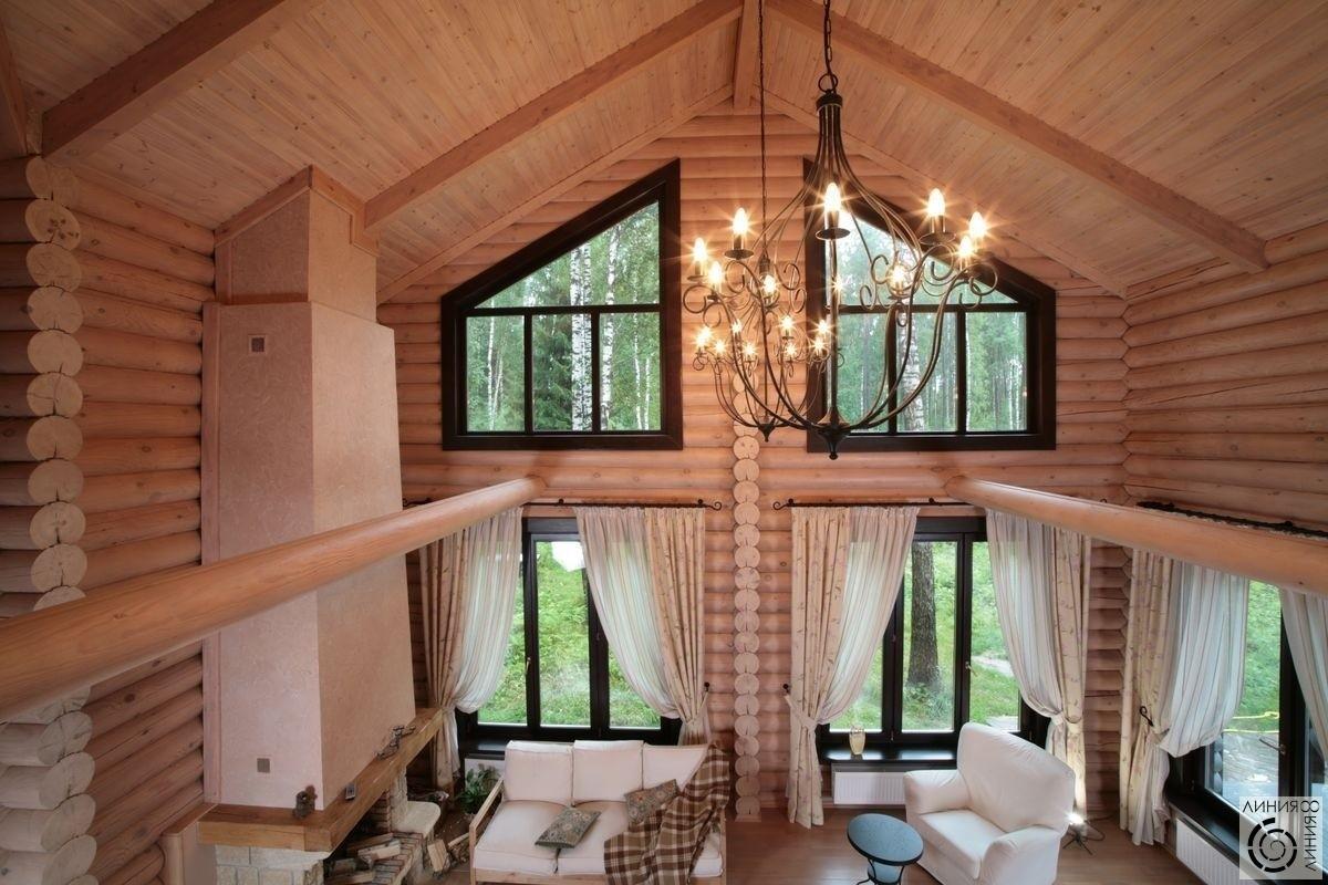 Проект дома со вторым светом и с террасой фото